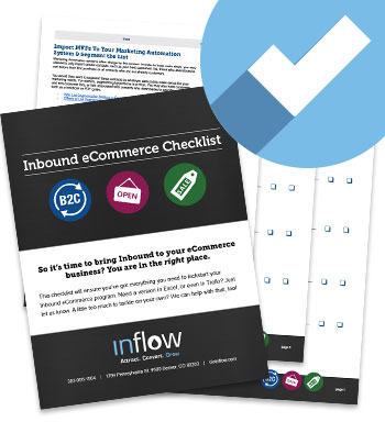 Download the Inbound for eCommerce Checklist from Inflow